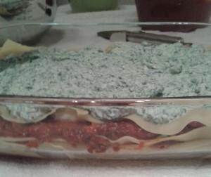 Lasagna -- halfway there