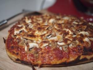 Pan Pizza at Home