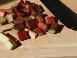 Rhubarb Cubes