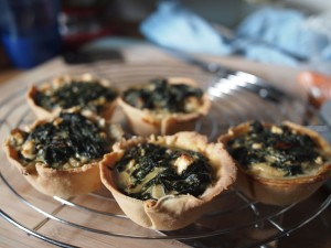 Little Spinach Pies