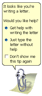 Clippy letter