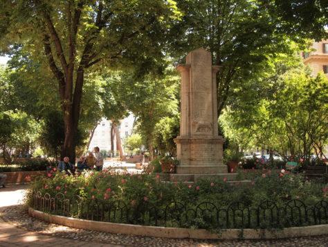 A park in Testaccio