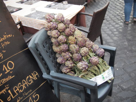 Artichokes in the Jewish Quarter