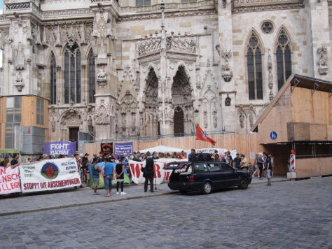 Protest am Dom