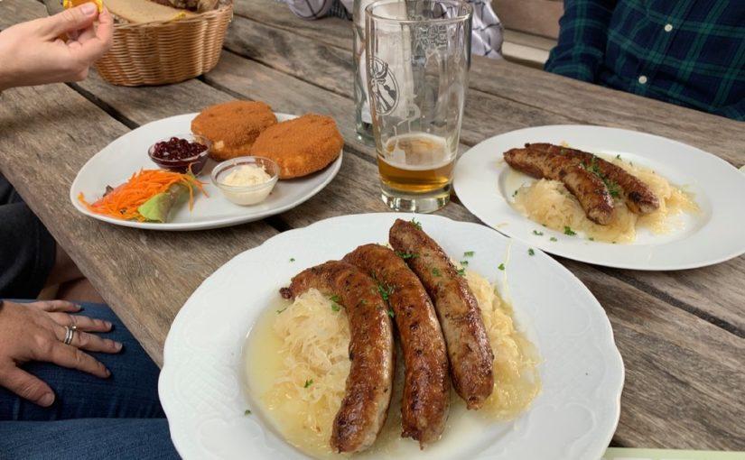Zweierlei Wanderungen, Wein und Bier